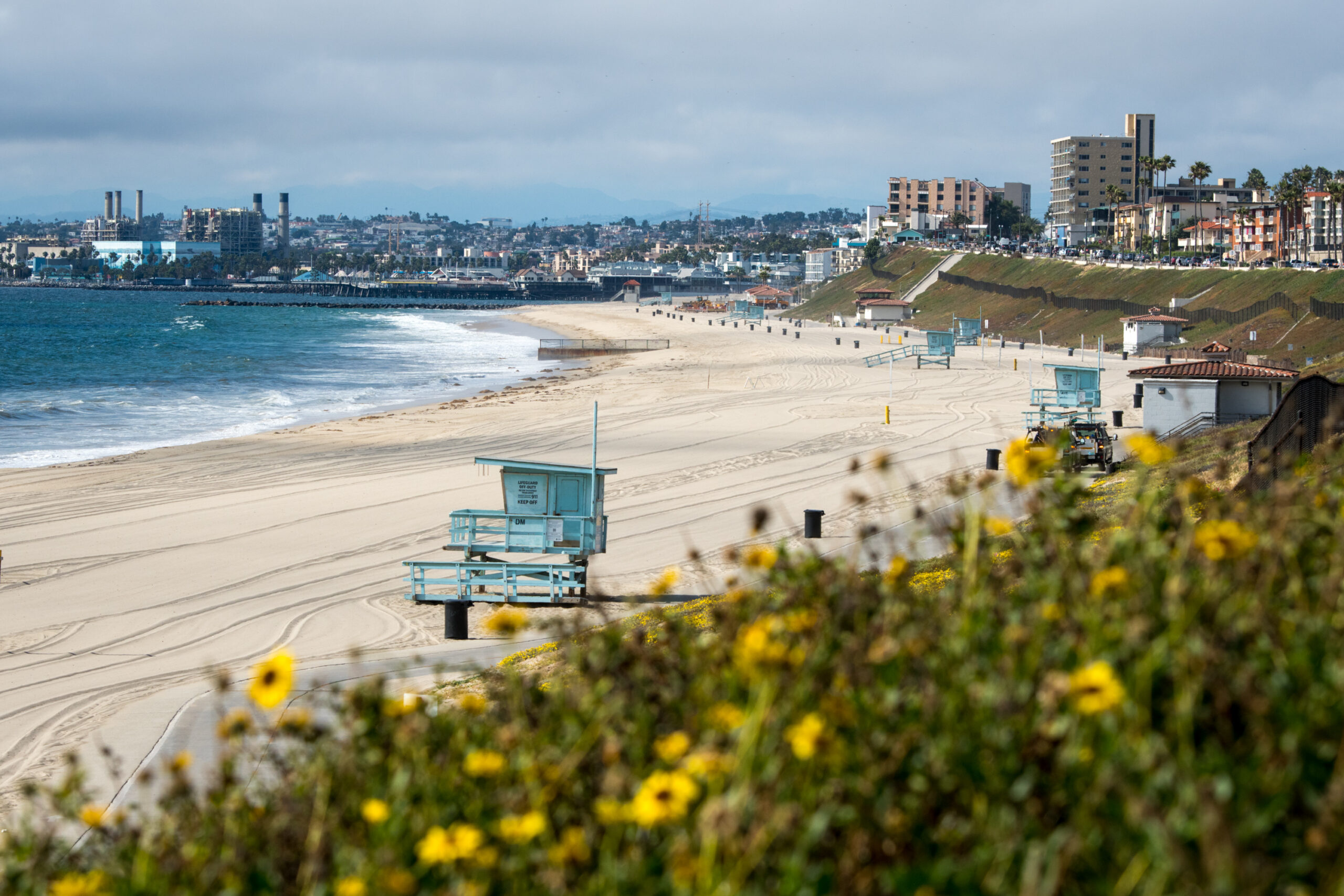 Redondo Beach is ready for Wednesday's reopening. (Photo/Michael Owen Baker)