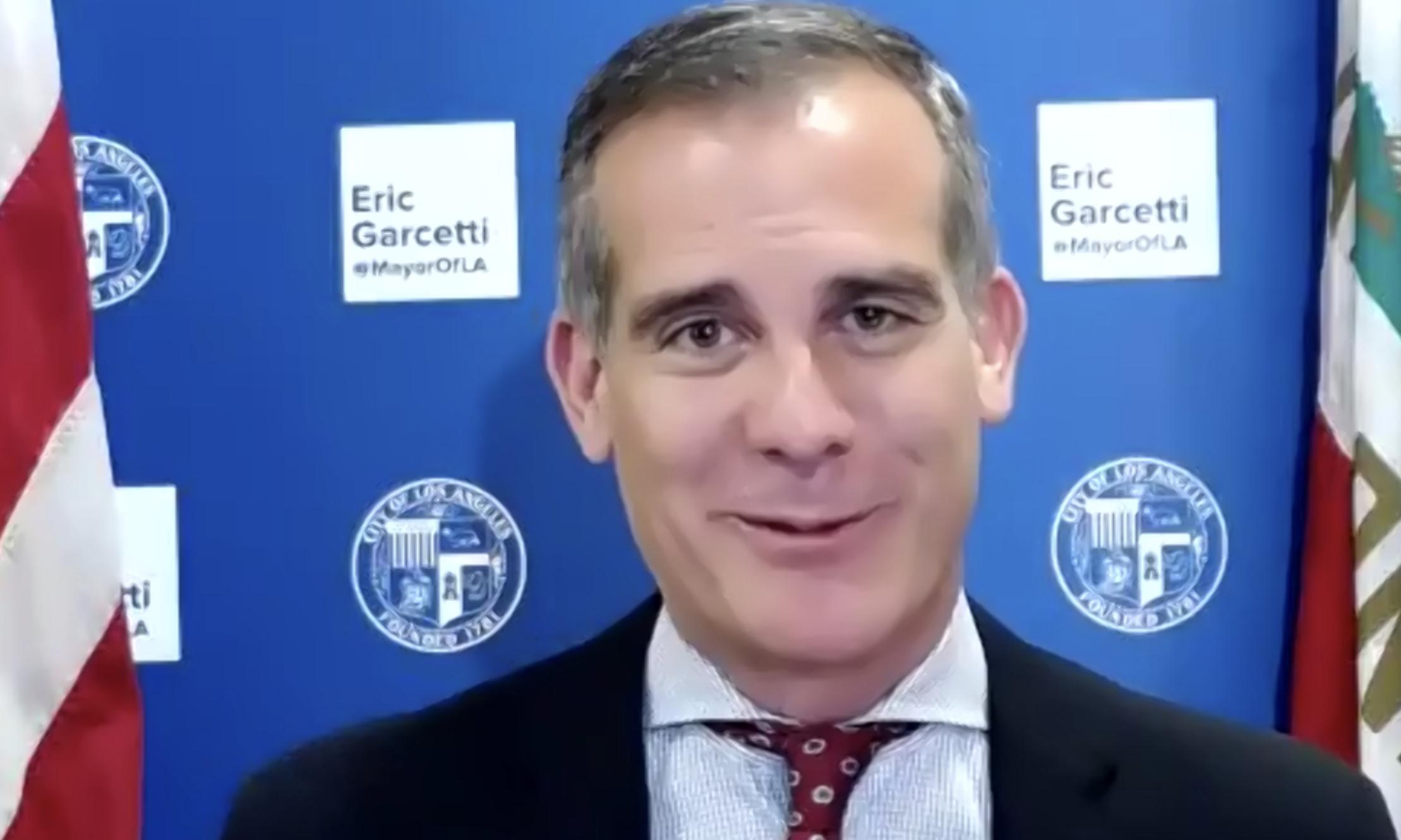 Eric Garcetti, alcalde de Los Angeles 2021
